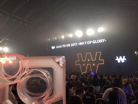 AAA ARENA TOUR 2017-WAY OF GLORY- 宮城セキスイハイムアリーナ