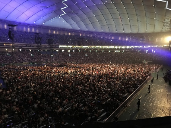 ポールマッカートニー 2017年4月30日 東京ドーム