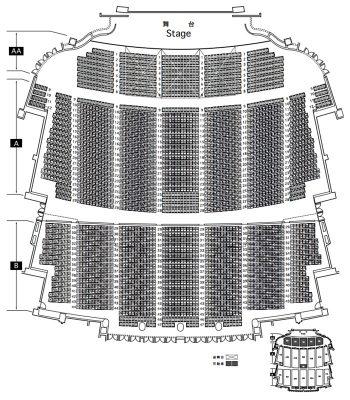 パシフィコ横浜 座席表