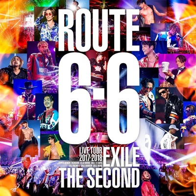"EXILE THE SECOND LIVE TOUR 2017-2018 ""ROUTE 6・6"""