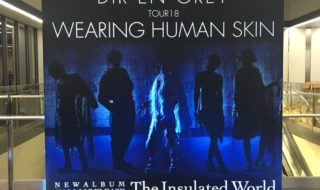 DIR EN GREY TOUR18 WEARING HUMAN SKIN なんばHatch 2018年8月31日