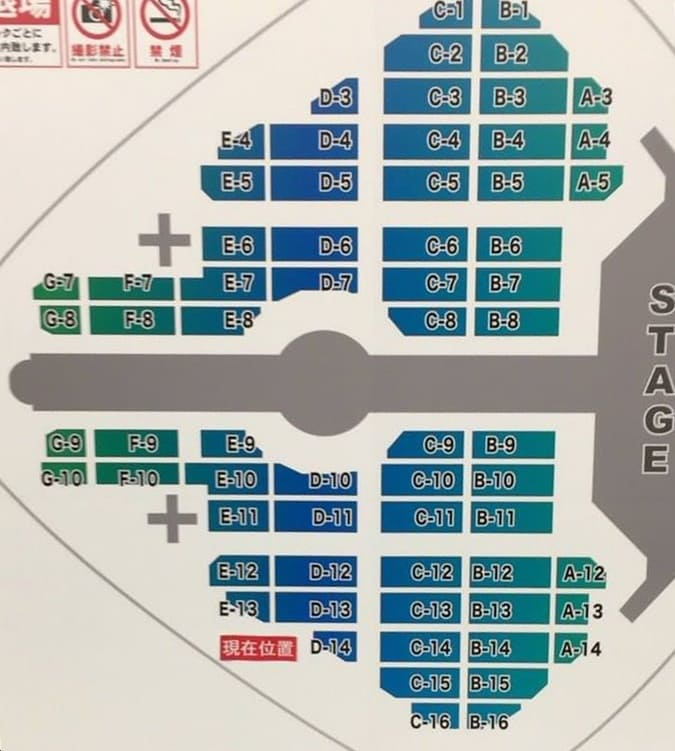 NEWS LIVE TOUR 2017 NEVERLAND 東京ドーム アリーナ・座席表