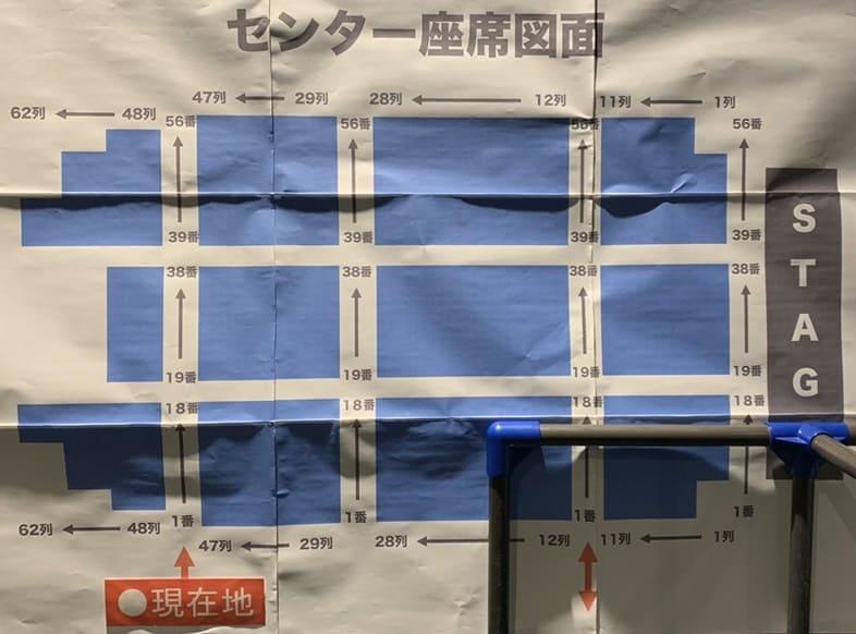 ポルノグラフィティ 16th ライヴサーキット UNFADED 横浜アリーナ センター座席表