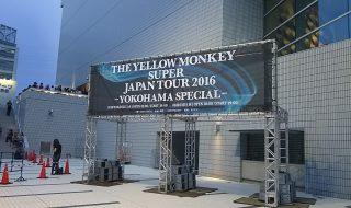 THE YELLOW MONKEY SUPER JAPAN TOUR 2016 横浜アリーナ