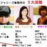SMAP育ての親である飯島三智VSメリー喜多川とジュリー藤島の確執騒動